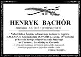 Bąchór Henryk