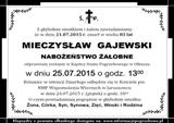 Gajewski Mieczysław