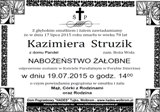 Struzik Kazimiera