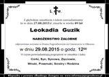 Guzik Leokadia