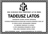 Latos Tadeusz
