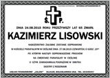 Lisowski Kazimierz