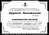 Nowakowski Zygmunt