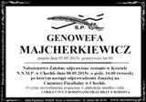 Majcherkiewicz Genowefa