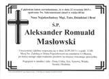 Masłowski Aleksander