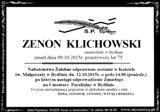 Klichowski Zenon