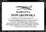 Nowakowska Marianna