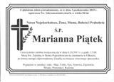 Piątek Marianna