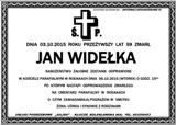 Widełka Jan