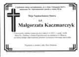 Kaczmarczyk Małgorzata