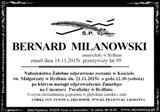 Milanowski Bernard