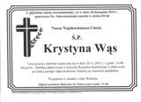 Wąs Krystyna