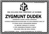 Dudek Zygmunt