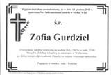 Gurdziel Zofia