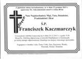 KaczmarczykFranciszek