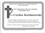 Kordaszewski Czesław