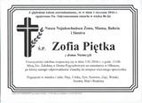 Piętka Zofia