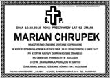 Chrupek Marian