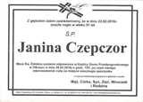 Czepczor Janina
