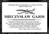 Gajos Mieczysław