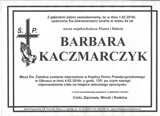Kaczmarczyk Barbara