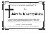 Karczyńska Józefa