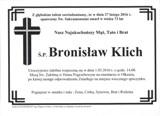 Klich Bronisław
