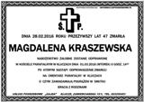 Kraszewska Magdalena