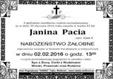 Pacia Janina
