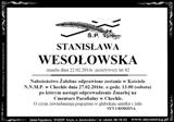 Wesołowska Stanisława
