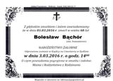 Bąchór Bolesław