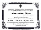 Chyla Mieczysław