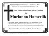 Hamerlik Marianna