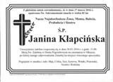 Kłapcińska Janina
