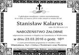 Kalarus Stanisław