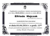 Majczak Elfriede