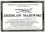 Majewski Zdzisław