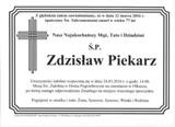 Piekarz Zdzisław