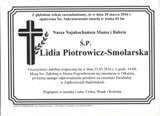 Piotrowicz-Smolarska Lidia