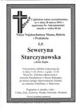 Starczynowska Seweryna