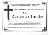 Tondos Zdzisława