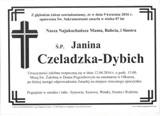 Czeladzka-Dybich Janina