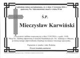 Karwiński Mieczysław