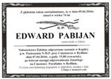 Pabijan Edward