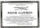 Gawron Piotr