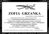 Grzanka Zofia