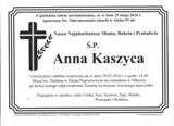 Kaszyca Anna