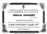 Paikiert Emilia