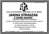Straszak Janina