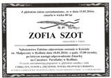 Szot Zofia